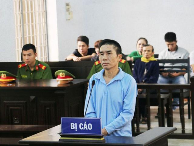 Bị cáo Nguyễn Văn Hùng tại phiên tòa sơ thẩm