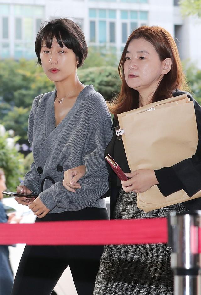 Yang Ye Won trong những ngày hầu tòa.