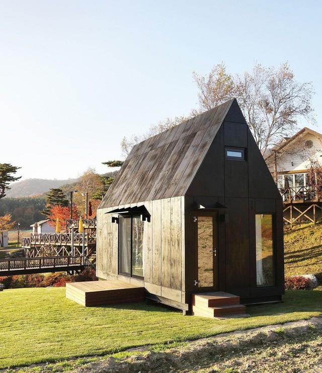 Thiết kế cabin với không gian nhỏ bé và thân thiện với môi trường.