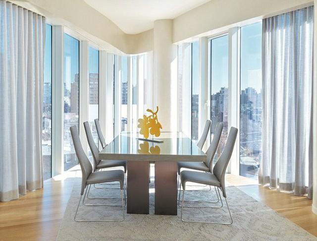 Nhờ thiết kế sáng tạo này mà căn phòng của gia đình luôn ngập tràn ănh sáng.