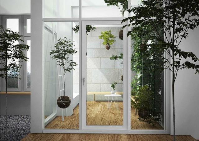 Chủ đề cây xanh được xuyên suốt trong toàn bộ không gian nhà ở. Với những thiết kế sáng tạo và đẹp mắt những cây xanh này được nâng tầm mà trở nên có ích trong việc trang trí không gian căn hộ.