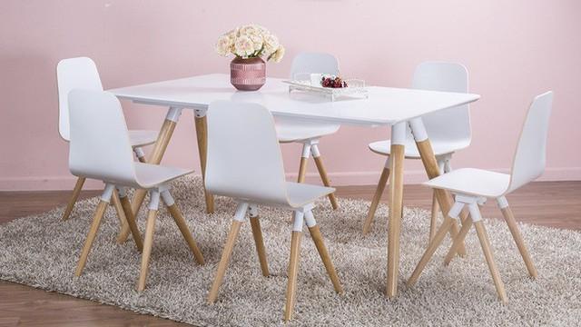Bộ bàn ăn 6 ghế.