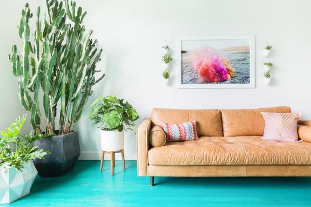 Cây xanh là một phần không thể thiếu để mang đến một không gian sống hiện đại mà thân thiện, gần gũi với thiên nhiên của căn hộ.