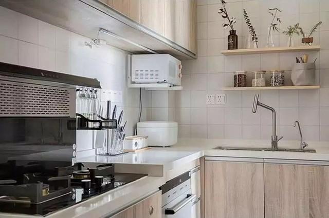 Các thiết bị trong nhà bếp cũng là loại hiện đại, tiện nghi vì Daxie khá hứng thú với công việc bếp núc.