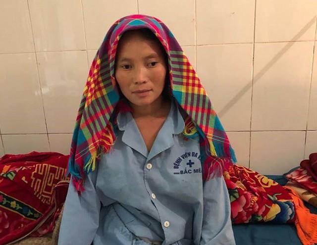 Chị Mã Thị Chung đã ổn định và xuất viện. Ảnh: Bệnh viện cung cấp
