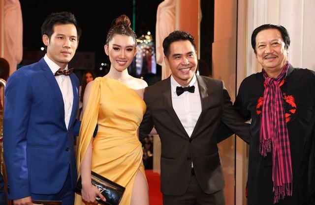 Từ trái sang: Diễn viên Thanh Thức, Thúy Ngân, Trung Dũng, Mai Huỳnh.