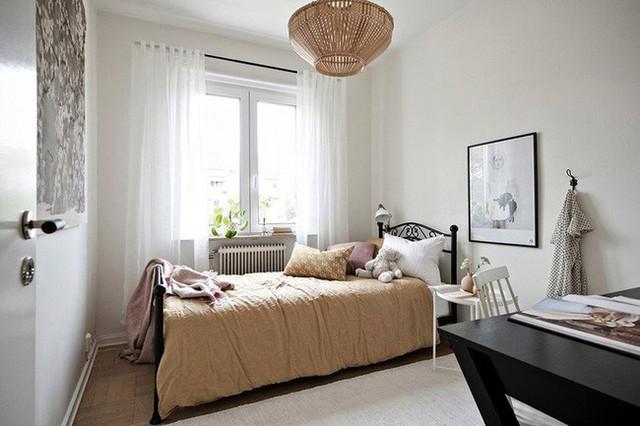Bạn có thể dễ dàng nhận thấy không chỉ phù hợp sử dụng cho không gian phòng khách, phòng ăn mà Scandinavian cũng là phong cách nội thất rất thích hợp dùng trong phòng của trẻ.