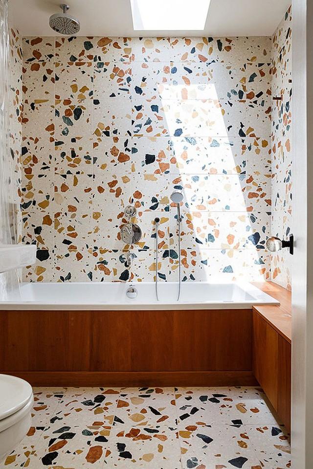 Một mẫu gạch lát mang đến nguồn sức sống dồi dào bên trong căn phòng.
