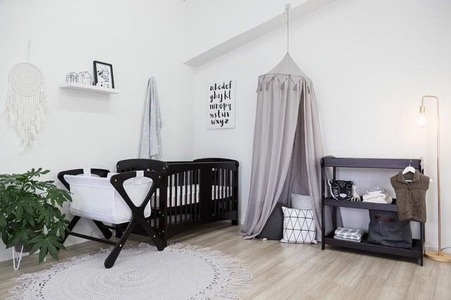 Bạn có thể lựa chọn phong cách Scandinavian để thiết kế phòng cho trẻ từ sơ sinh đến khi đi học.
