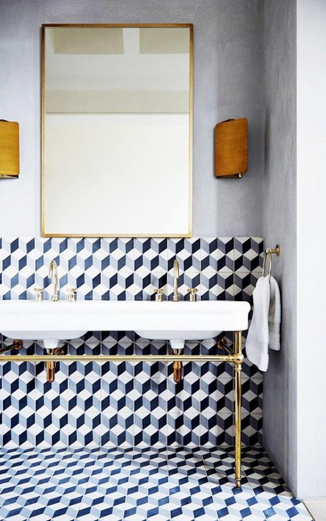 Gạch lát phòng tắm có rất nhiều loại để bạn lựa chọn tùy theo sở thích.