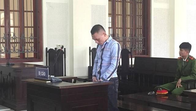 Bị cáo Lê Ngọc Tuấn tại phiên tòa