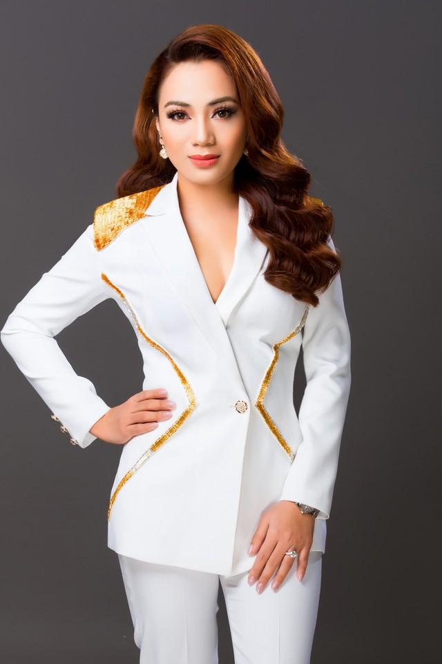 Bà Lê Thị Hồng Nhung, CEO Công ty Mat Xi S.G và chủ nhãn hàng Golean Detox