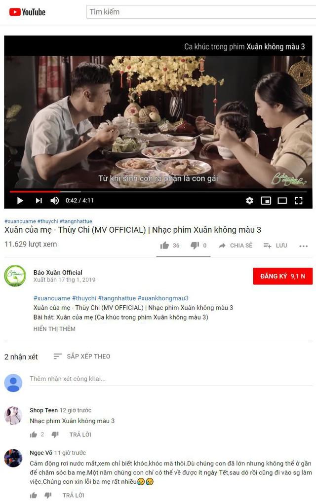 Hình ảnh MV Xuân của Mẹ