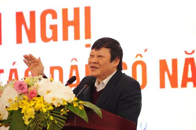 Thứ trưởng thường trực Bộ Y tế Nguyễn Viết Tiến đã có những chỉ đạo định hướng quan trọng về công tác dân số trong tình hình mới. Ảnh: Chí Cường