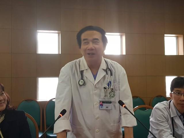 PGS.TS Nguyễn Văn Chi, Phó Trưởng khoa Cấp cứu, Bệnh viện Bạch Mai