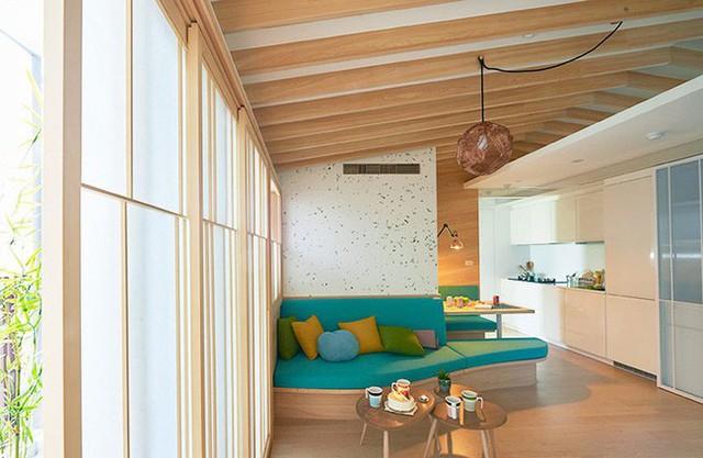 Không gian đẹp mê hoặc với cách phối màu tinh tế.