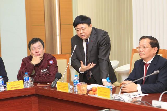 PGS.TS Nguyễn Thế Kỷ - Tổng Giám đốc VOV phát biểu trong buổi họp chiều 25/1