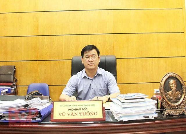 Ông Vũ Văn Tưởng - Phó Giám đốc Sở TNMT tỉnh Bắc Giang khẳng định ông Hữu có năng lực và kinh nghiệm