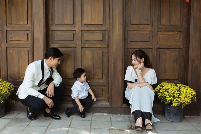 Ngọc Lan chia sẻ con trai chính là động lực để hai vợ chồng cô không ngừng chăm chỉ làm việc trong suốt năm vừa qua.