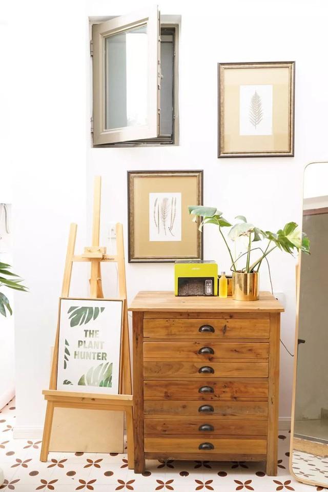 Góc ấn tượng của nội thất gỗ.