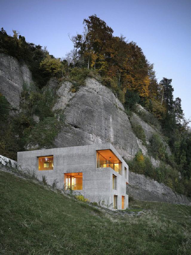 5. Thiết kế nhà nghỉ dưỡng theo phong cách công nghiệp này được thiết kế bởi kiến trúc sư Vitznau với đối tác Architekten Planer để mang tới cuộc cách mạng mới trong vấn đề xây dựng nhà ở.