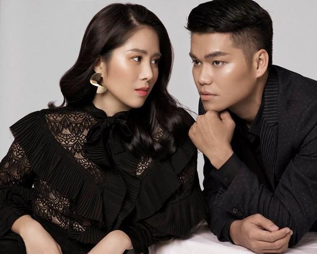 Vợ chồng Lê Phương và Trung Kiên