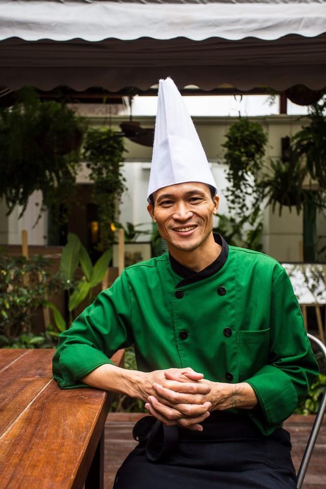 Anh Hinh - bếp trưởng Ngon Garden