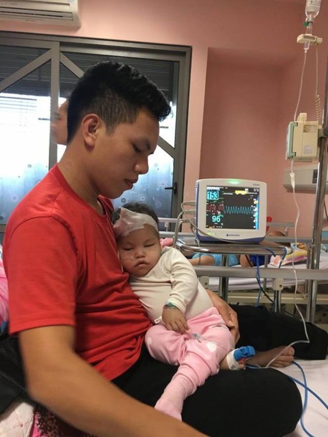 Anh Nguyễn Thành Đức và con gái Hải Quỳnh