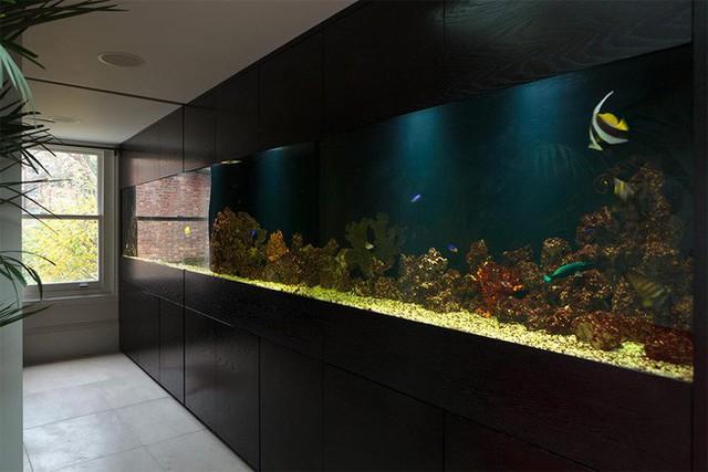 2. Một đại dương thu nhỏ đang nằm trong ngôi nhà của bạn. Với thiết kế này trông nhà bạn sẽ sang trọng và cổ điển hơn rất nhiều.