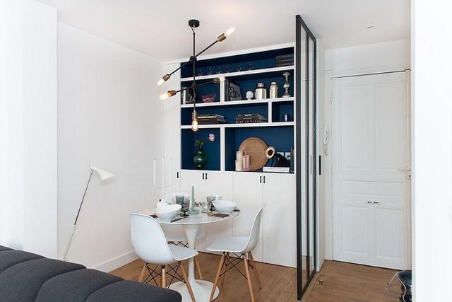 Phòng ăn hoàn hảo cho hai người trong căn hộ nhỏ.