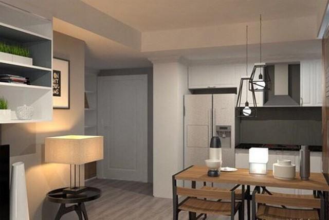 Trong không gian sống của mình, Hương Giang lựa chọn tone màu xám - trắng đơn giản, sang trọng làm màu chủ đạo. Đồng thời, các không gian trong từng phòng đều được sắp xếp hợp lý.