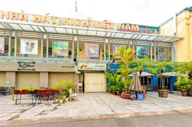 Nhà hát Kịch Việt Nam hiện vẫn trống ghế Giám đốc. Ảnh: TL