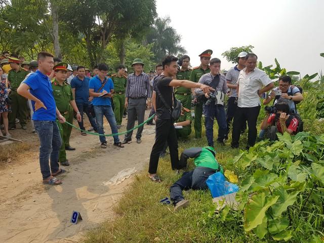 Thực nghiệm hiện trường vụ nam sinh chạy Grab bị sát hại ở Hà Nội - Ảnh 9.
