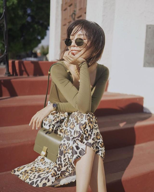 Chân váy midi dễ mặc, nhưng bạn sẽ xinh tươi sành điệu nhất khi áp dụng 4 công thức sau - Ảnh 5.
