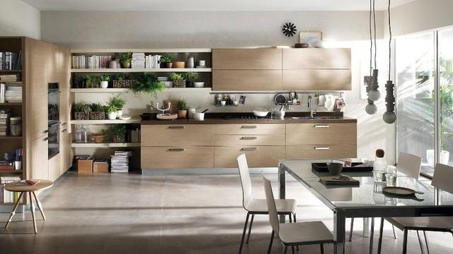 Mẫu nhà bếp đẹp khiến gia chủ vô cùng thích thú - Ảnh 1.