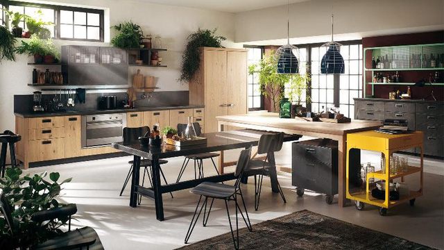 Mẫu nhà bếp đẹp khiến gia chủ vô cùng thích thú - Ảnh 2.