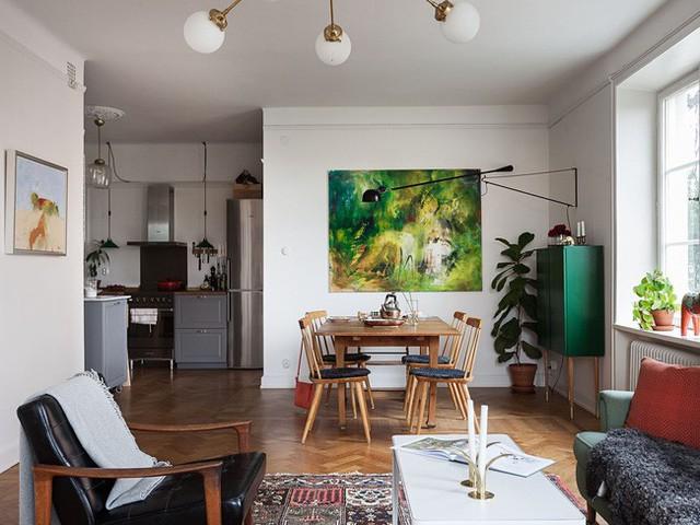 Căn hộ rộng 75m² được trang trí với sắc màu tươi vui, mát mắt quá đỗi phù hợp cho nhà có trẻ nhỏ - Ảnh 3.