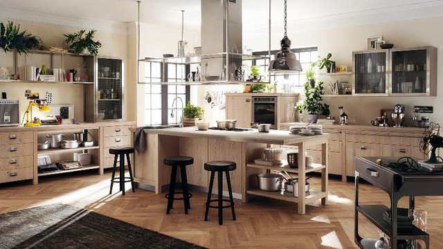 Mẫu nhà bếp đẹp khiến gia chủ vô cùng thích thú - Ảnh 6.