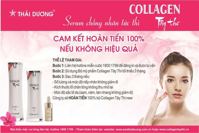 Nhãn hàng Collagen Tây Thi New của Sao Thái Dương cam kết hoàn tiền 100% nếu không hiệu quả - Ảnh 7.