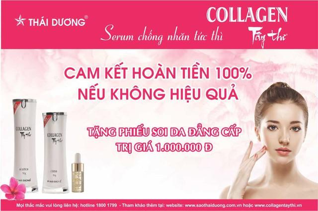 Nhãn hàng Collagen Tây Thi New của Sao Thái Dương cam kết hoàn tiền 100% nếu không hiệu quả - Ảnh 8.
