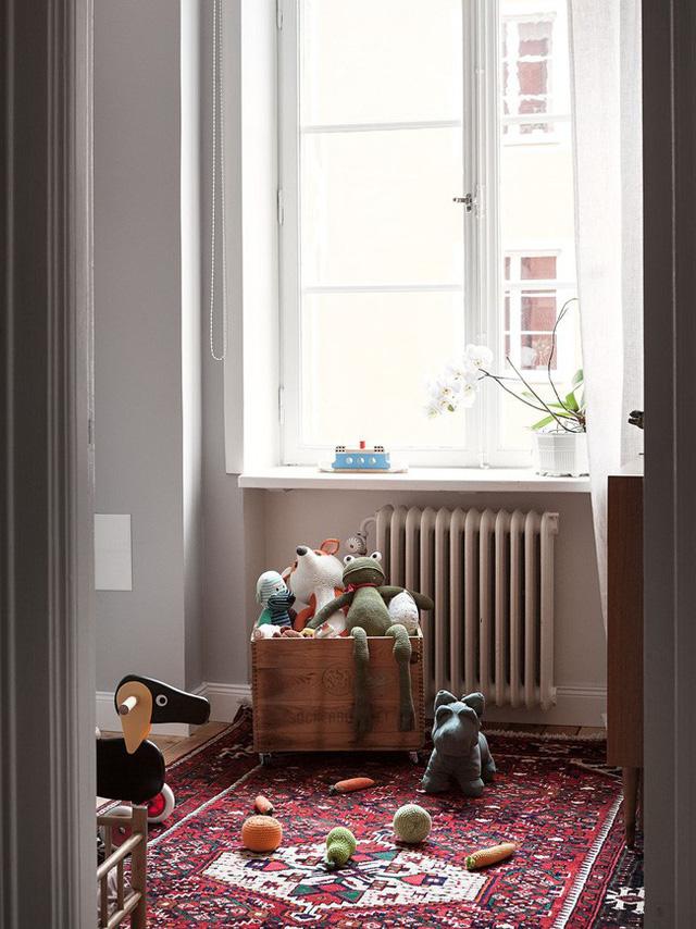 Căn hộ rộng 75m² được trang trí với sắc màu tươi vui, mát mắt quá đỗi phù hợp cho nhà có trẻ nhỏ - Ảnh 9.