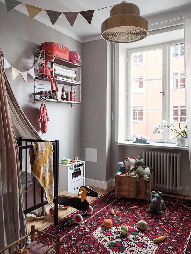 Căn hộ rộng 75m² được trang trí với sắc màu tươi vui, mát mắt quá đỗi phù hợp cho nhà có trẻ nhỏ - Ảnh 10.
