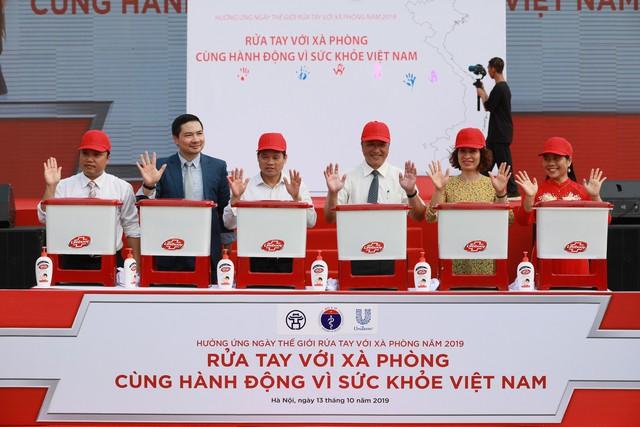 Rửa tay với xà phòng – Cùng hành động vì sức khỏe Việt Nam - Ảnh 2.