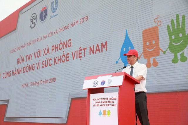 Rửa tay với xà phòng – Cùng hành động vì sức khỏe Việt Nam - Ảnh 1.
