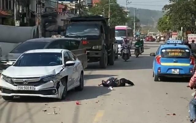 Hải Phòng: Tông trực diện xe ô tô, 2 thanh niên thương vong - Ảnh 2.