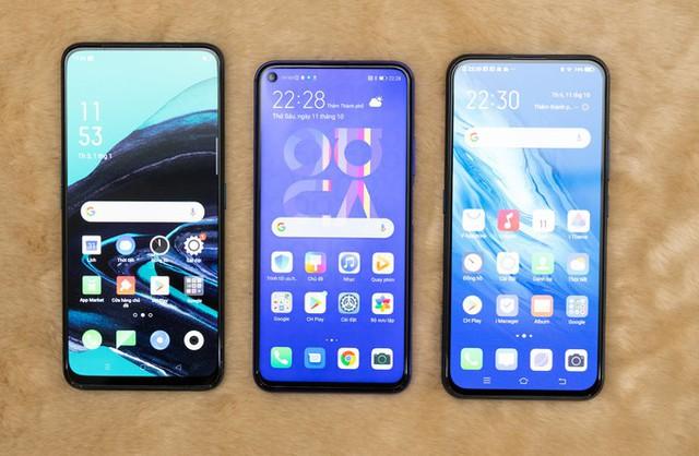 Những smartphone 4 camera sau đọ dáng  - Ảnh 1.