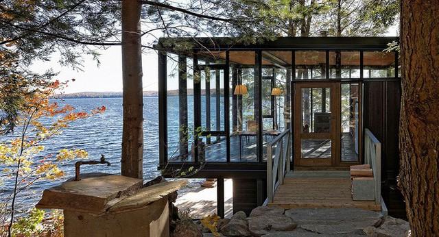 Ngôi nhà lưng tựa núi, mặt view hồ đẹp chất ngất dành cho những ai muốn sống gần thiên nhiên - Ảnh 3.