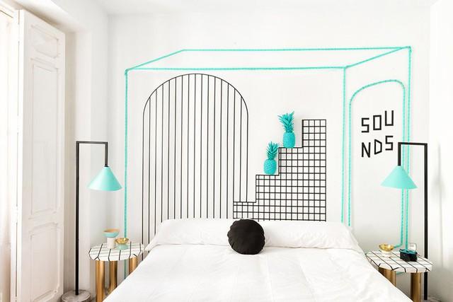 Phòng ngủ đẹp như tranh mà bất cứ cô gái nào cũng mê mẩn - Ảnh 4.
