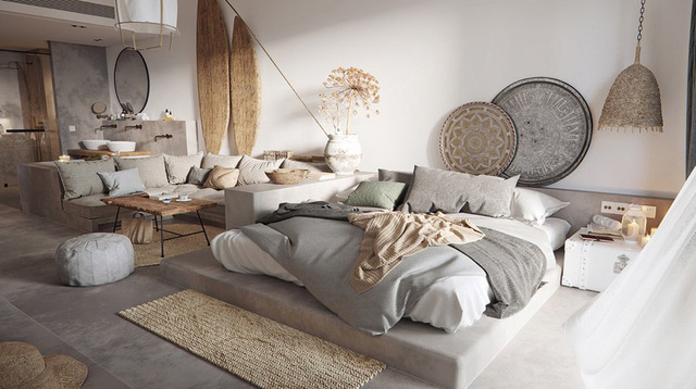 Phòng ngủ đẹp như tranh mà bất cứ cô gái nào cũng mê mẩn - Ảnh 5.