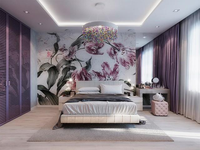 Phòng ngủ đẹp như tranh mà bất cứ cô gái nào cũng mê mẩn - Ảnh 7.
